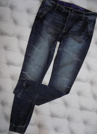 Мужские джинсы на очень высокого парня, джогеры 34*34