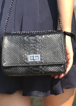 Итальянская кожаная сумочка