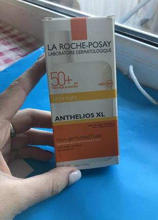 Для лица la roche-posay anthelios spf 50  fluid ultra-light