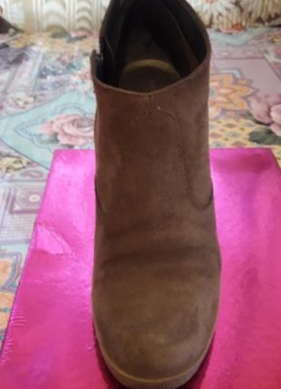 Ботиночки из натуральной замши