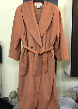 Laurel женское пальто оверсайз охра рыжее оригинал