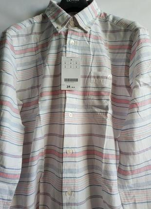 Рубашка  s, m    французского бренда promod оригинал европа франция