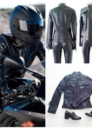 Кожаная мотокуртка бренд u.o.y. , англия, 36р, наш 42р