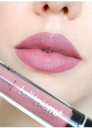 Жидкая помада для губ bellapierre kiss proof lip creme
