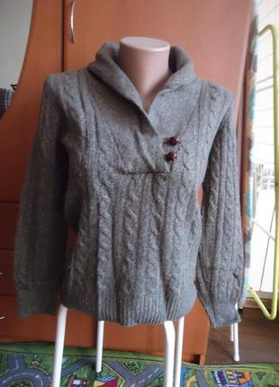 Шикарный свитер кашемир/ангора/шерсть **