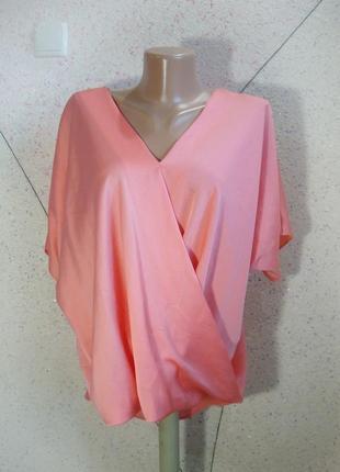 Роскошная блуза на запах 12-14