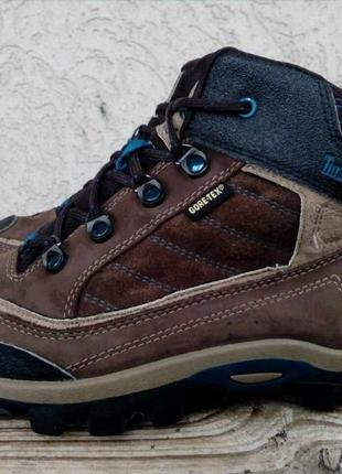 Ботинки timberland gore-tex нубук (кожа)  37р