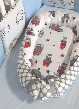 Кокон гнездышко для новорождённого