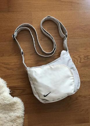 Стильная спортивная маленькая сумка сумочка через плечо  nike