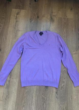 Базовый свитер tommy hilfiger,l