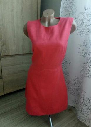 Платье из фактурной ткани h&m, р.38