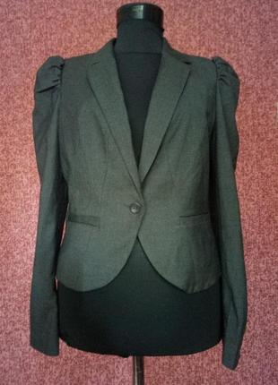 Укороченный пиджак от h&m1
