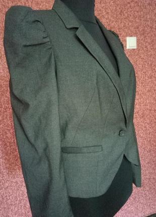 Укороченный пиджак от h&m3 фото