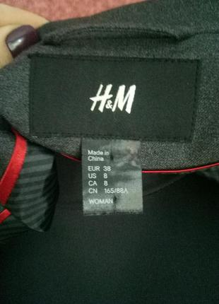 Укороченный пиджак от h&m4 фото