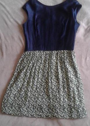 Стильное платье из натуральных итальянских тканей