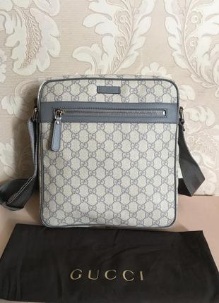 Gucci оригинал италия сумка мессенджер через плечо новая