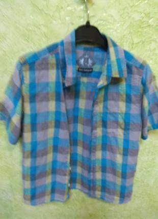 Рубашка с коротким рукавом marks&spencers