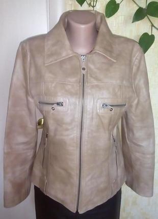 Крутая кожаная куртка из 100 % мраморной кожи /жакет/ кожаная куртка/пиджак/