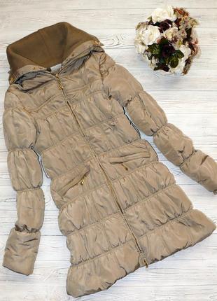 Зимнее пальто на синтепоне, р. s