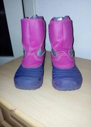 Зимние ботинки для девочки бу merrell 30 размер