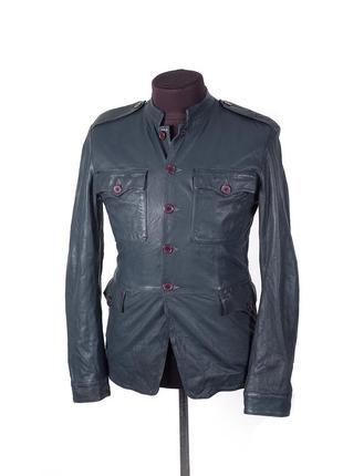 Кожанная куртка levis