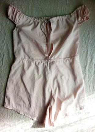 ... Піжама комбінезон ніжного рожевого кольору з відкритими плечима2 ... 281eb7705eeb3