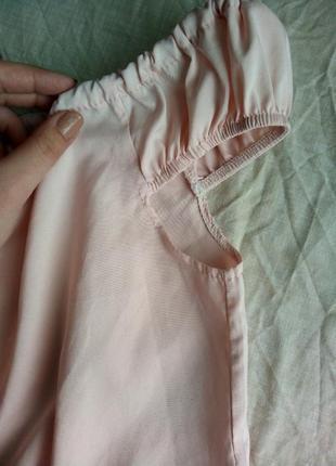 ... Піжама комбінезон ніжного рожевого кольору з відкритими плечима4 ... ac29a7601c2b7