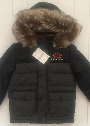 Теплая зимняя куртка для мальчика c&a palomino германия 98, 104, 110, 116, 122