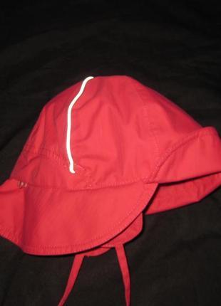 8-12 лет, термо шапка reima малиновая, девочке