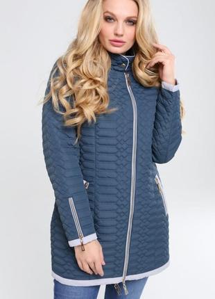 Женская демисезонная куртка адония, большие размеры