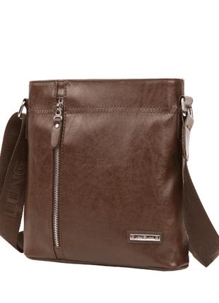 Стильная и качественная мужская сумка в наличии + подарок визитница