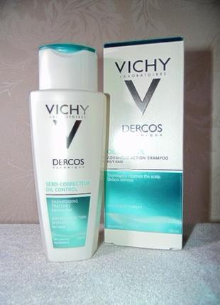 Cебо-регулирующий шампунь-уход для жирных волос