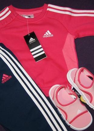 Байковый спортивный костюм adidas