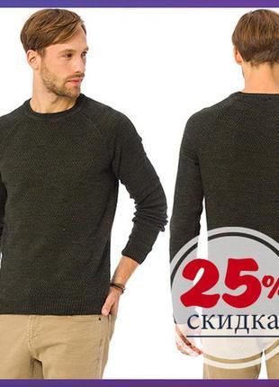 Мужской свитер цвета хаки lc waikiki / лс вайкики
