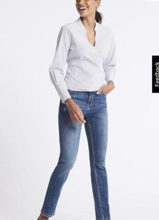 Оригинальные  джинсы m&s супер посадка 14 размер