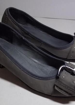 """Стильные туфельки """"minozzi"""" milano 37р натур.кожа!описание."""