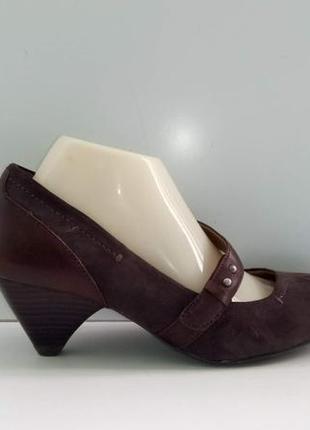 Туфли замшевые footglove, р. 39.