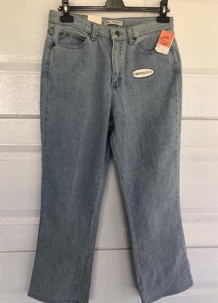 💫✨классные винтажные женские  брендовые джинсы lee, прямой крой✨💫
