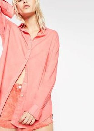 Стильная асимметричная рубашка