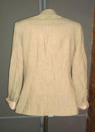 Жакет блейзер пиджак из 100% льна h&m2 фото