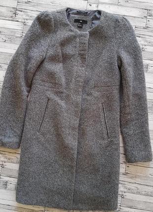 Пальто h&m шерсть