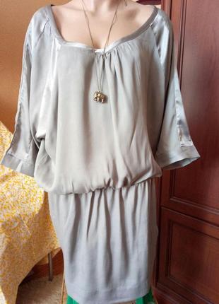 Красивенное нарядное платье-туника от saint tropez свободного кроя оверсайз