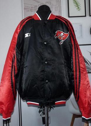 Куртка утепленная бомбер клубная tampa bay buccaneers