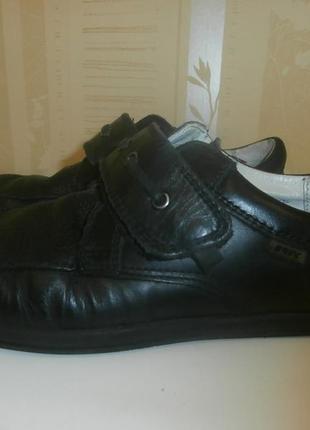 Мокасины туфли школьные для мальчика minimen