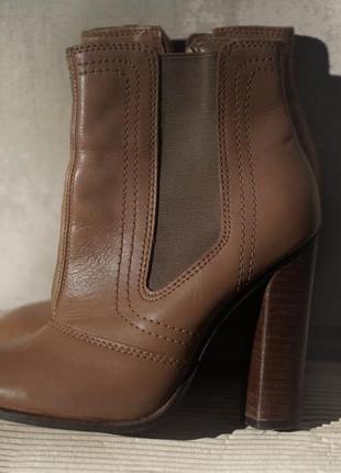Сапожки, ботильоны кожа river island 2 look amazing/сапоги, ботинки похожи на zara, mango