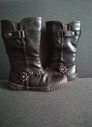 Утепленные сапоги. демисезонные ботинки. деми ботиночки для девочки