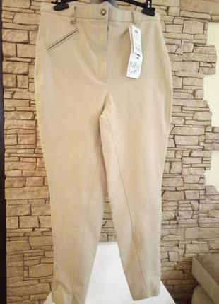 Стрейчевые брюки 《жокей》32 ,размер 46-482 фото