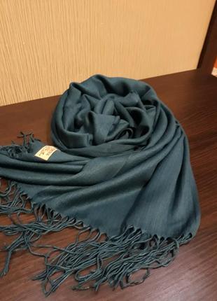 💞роскошный травяной изумруд кашемировый шарф шаль качество шикарное