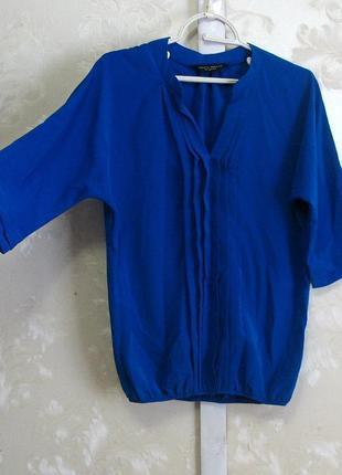 Красивая синяя блуза dorothy perkins