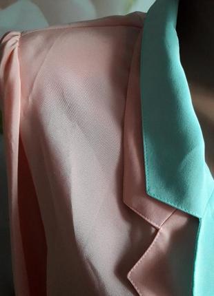 Шифоновый пиджак р-р л-хл4 фото